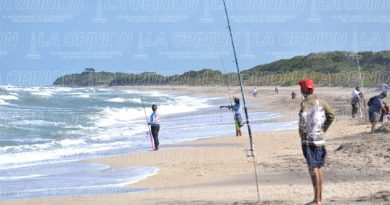 Pesca en Playa, el domingo 18