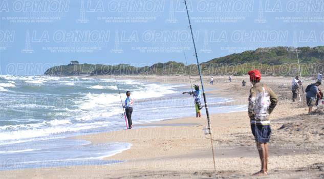 Pesca en Playa, el domingo 18