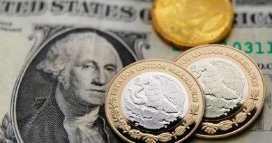Peso cae ante el dólar