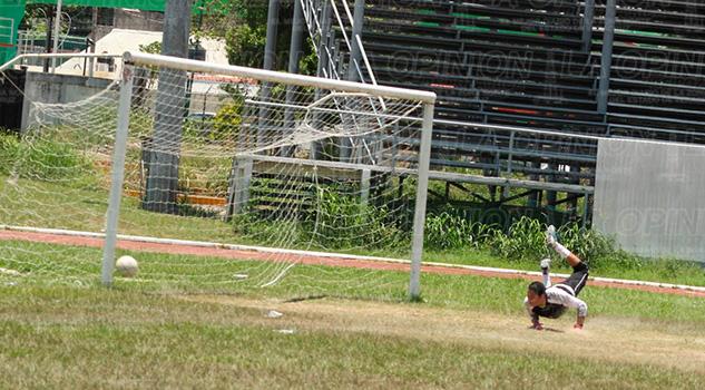 Poza Rica Futbol Campeón Portero Gol Tecos