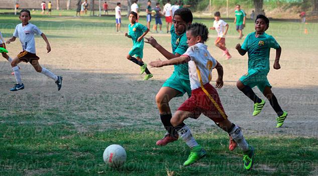 Poza Rica Torneo de los Barrios Infantil Futbol