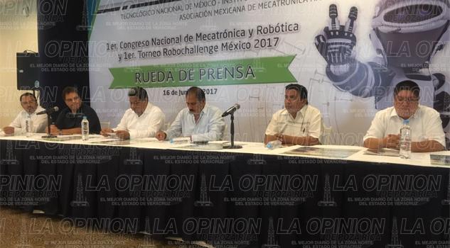 Primer torneo mundial de robótica en Poza Rica