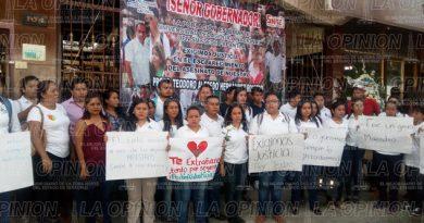 Protestan alumnos