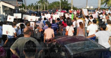 Protestan los simpatizantes del candidato independiente, Tavo Greer