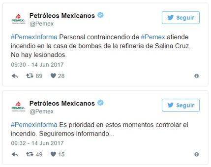 Salina Cruz Oaxaca Refinería Pemex