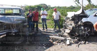 Se accidenta exalcalde de Ixhuatlán de Madero