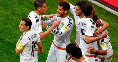 Selección México Confederaciones 2017