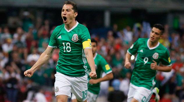 Selección México Confederaciones