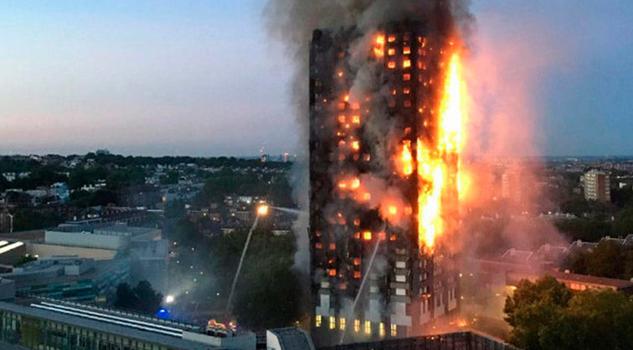 Siete muertos y 74 heridos en incendio en Londres
