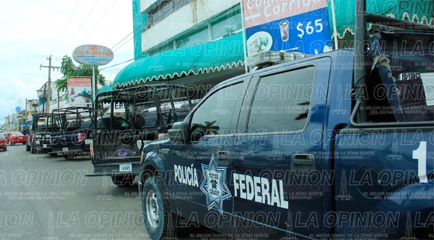 Sin base Policía Federal
