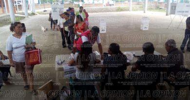 Sin retraso la instalación de casillas en Tihuatlán
