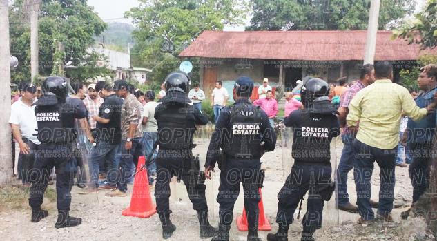 Tensión en Cerro Azul por recuento de votos