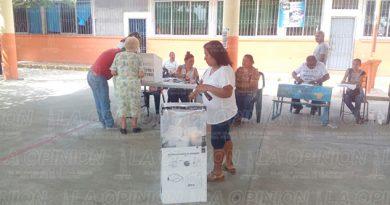 Tihuatlán Escasos Votantes Elecciones 2017