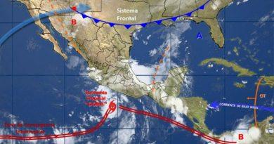 """Tormenta tropical """"Dora"""" podría convertirse en huracán"""