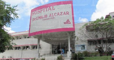 Una vergüenza el hospital civil