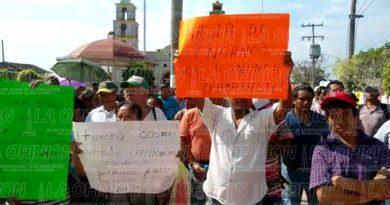 Ya no quieren al agente municipal de Escolín