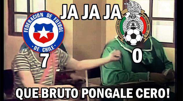 Chilenos quieren al tri en la final