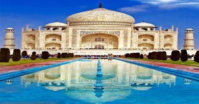 7.- Taj Mahal, India
