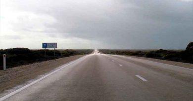 8. Carretera Eyre, Australia