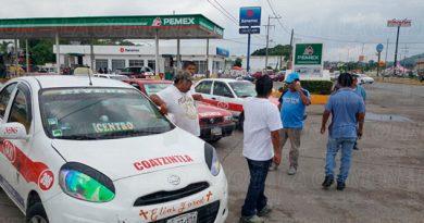Amenazan Taxistas Bloqueos