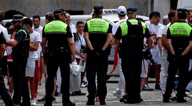 Atacan Policías Barcelona