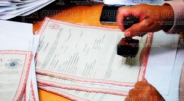 Aumentan Registros Extemporáneos