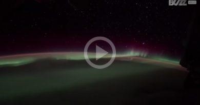 Aurora Boreal Espacio