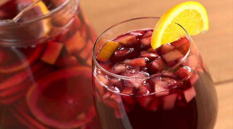 Cómo hacer sangría de vino