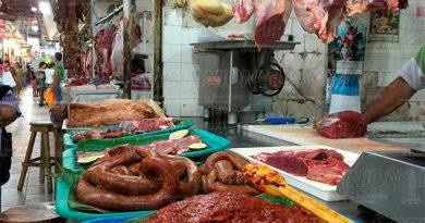 Caen hasta en un 70% las venta de carne en el mercado Poza Rica