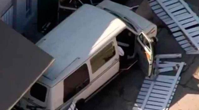 Camioneta Embiste Peatones Los Ángeles