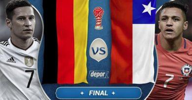 Chile y Alemania definirán la Copa Confederaciones