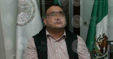 PGR anuncia que Duarte ya fue vinculado a proceso