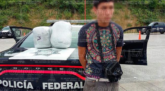Detenido Transportar Droga Tuxpan ADO