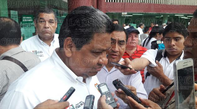 El alcalde Sergio Lorenzo Quiroz