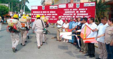 El alcalde de Cazones encabeza la campaña contra el dengue
