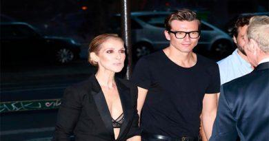 El guapo (y joven) español que conquistó el corazón de Céline Dion