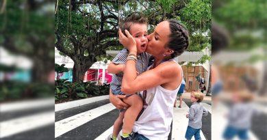 El hijo más pequeño de Inés Gómez Mont ya es todo un rompe corazones