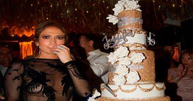 El lujoso (y costoso) pastel de cumpleaños con el que JLo festejó su cumple