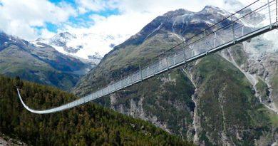 El puente colgante para peatones más largo del mundo