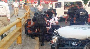Elementos Policía Municipal Tuxpan Lesionados