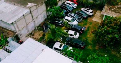 Encuentran Lote Autos Robados