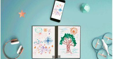 Este cuaderno infinito y digitalizable permitirá que pintes tanto como quieras