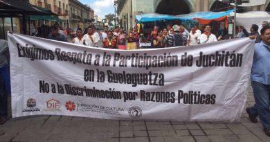 Exclusión Juchitán Guelaguetza 2017