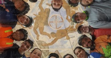 Exigen restaurar mural de Parque Cuauhtémoc