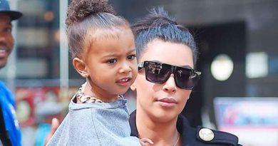 Hija Kim Kardashian