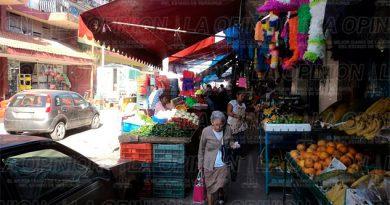Imparables los robos en el mercado municipal
