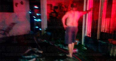 Incendio causa cuantiosos daños en Tuxpan