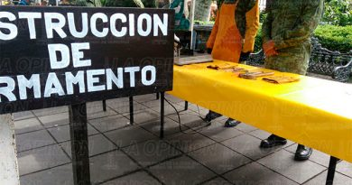 Inicia la ceremonia de destrucción de armas en Xalapa1