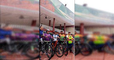 Inicia la ruta del Programa Ciclismo Cultural