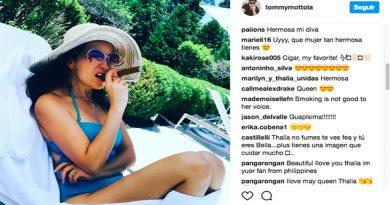La foto de Tommy Mottola que molestó a los fans de Thalía
